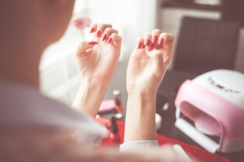 Manicure na wiosnę